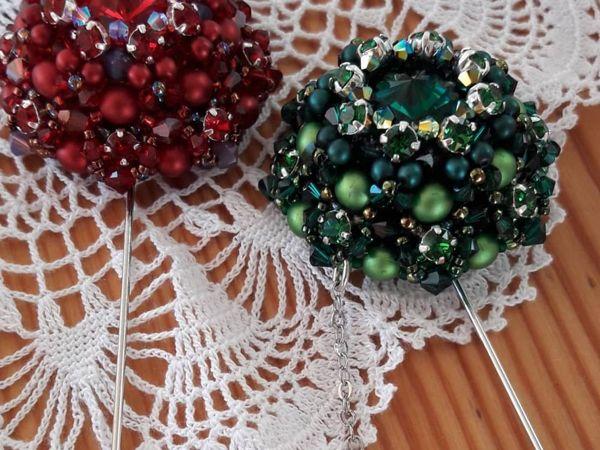 Брошь на заказ в любом цвете   Ярмарка Мастеров - ручная работа, handmade
