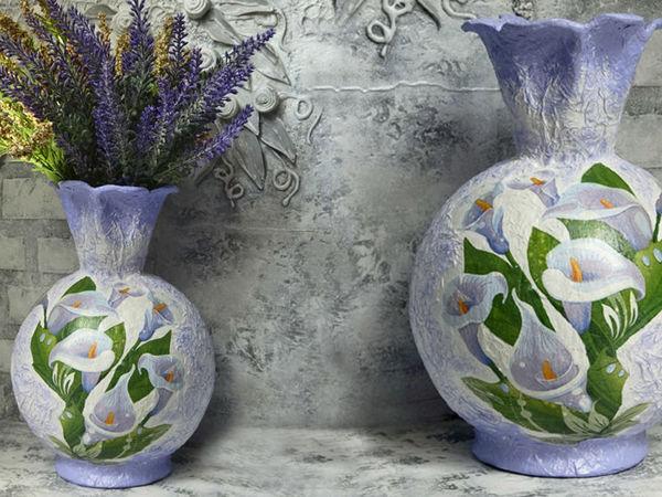 Video Tutorial: Creating Decorative Vase | Livemaster - handmade