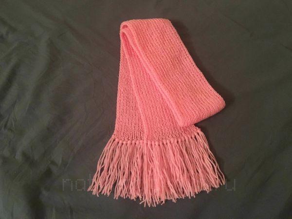 Как сделать кисточки на шарфе | Ярмарка Мастеров - ручная работа, handmade