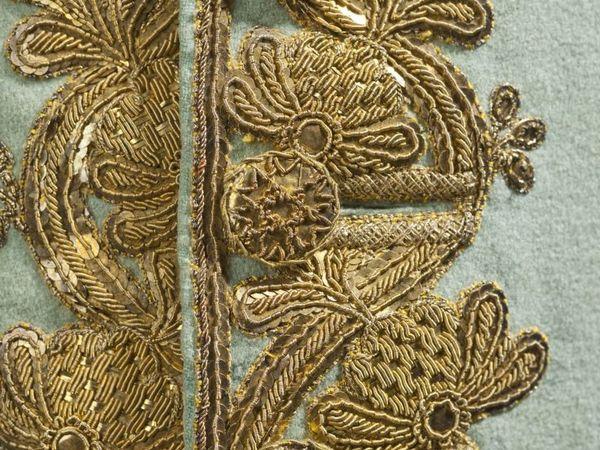 Мужской костюм-тройка 1760 г. с золотным шитьем | Ярмарка Мастеров - ручная работа, handmade