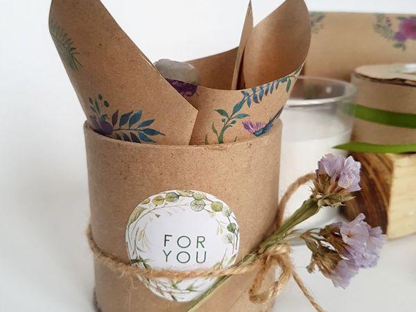 How to Make an Unusual Craft Box from Сardboard Tube (Bush) | Livemaster - handmade