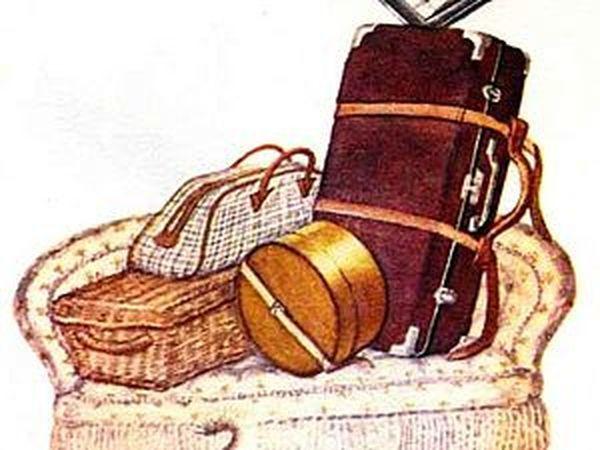 Дама сдавала в багаж   Ярмарка Мастеров - ручная работа, handmade