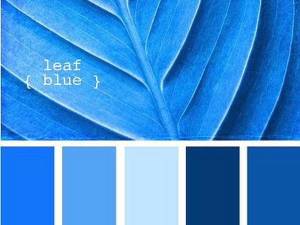 Черпаем вдохновение цветом в мире синевы. Часть 16 | Ярмарка Мастеров - ручная работа, handmade