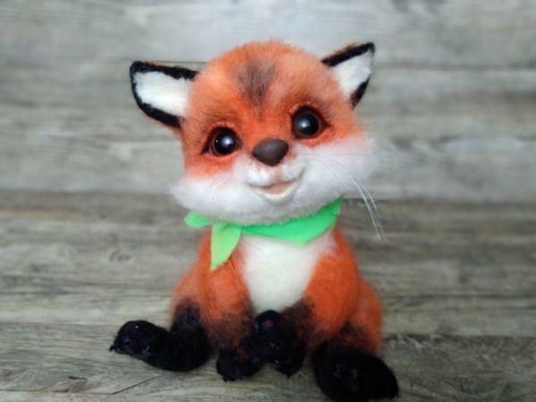 Видеоурок: мастерим лисичку — рыжую красавицу и модницу | Ярмарка Мастеров - ручная работа, handmade