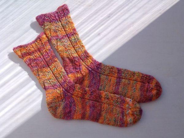вязание носков часть 1 ярмарка мастеров