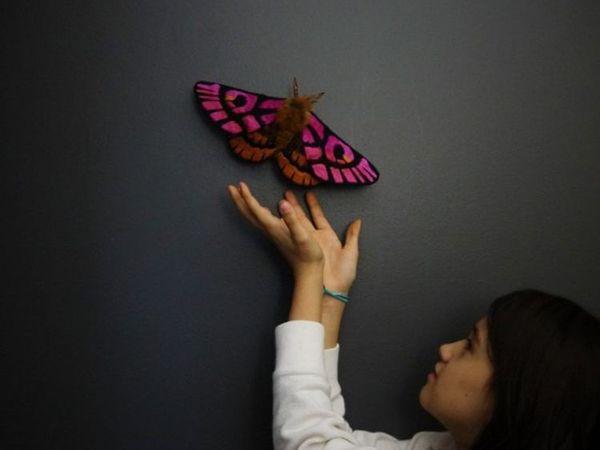 Удивительные бабочки мастерицы Okita Yumi   Ярмарка Мастеров - ручная работа, handmade