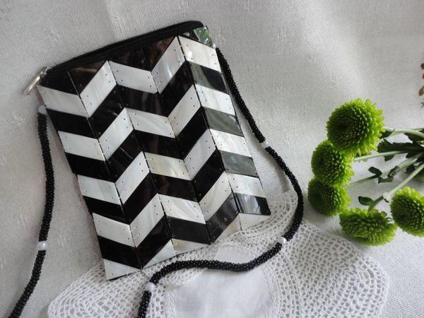 Нарядные черные и белые сумочки в нашем магазине   Ярмарка Мастеров - ручная работа, handmade