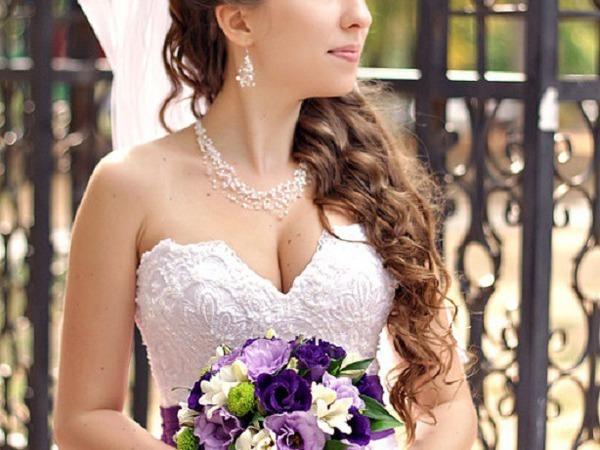 Создаем воздушное и нежное свадебное украшение | Ярмарка Мастеров - ручная работа, handmade