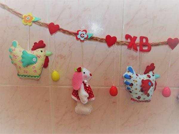 Мастерим пасхальный декор. Часть 1: Курочка и зайчик | Ярмарка Мастеров - ручная работа, handmade