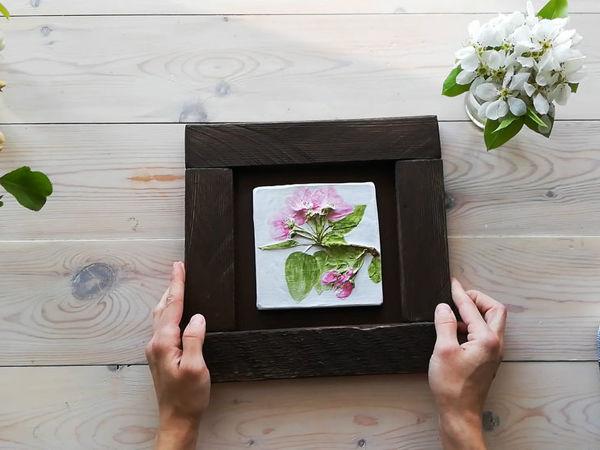 Creating Wooden Frame for Panel   Livemaster - handmade