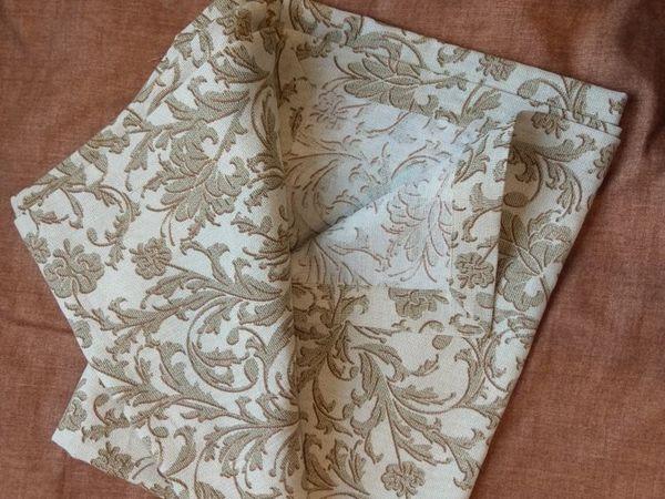 Оформляем красивый уголок у скатертей и салфеток   Ярмарка Мастеров - ручная работа, handmade