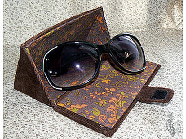 Делаем оригинальный футляр для очков | Ярмарка Мастеров - ручная работа, handmade