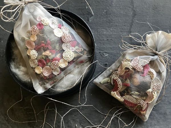 Вышитый ароматный мешочек от May Lilyq   Ярмарка Мастеров - ручная работа, handmade