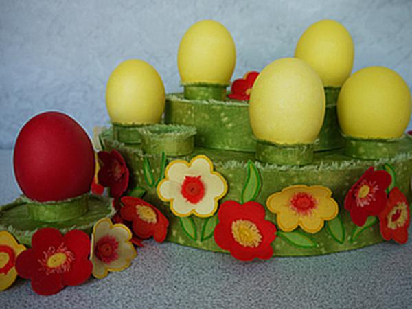 Мастерим к Пасхе из доступных материалов. Подставка для яиц.   Ярмарка Мастеров - ручная работа, handmade