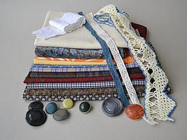 Винтажные ткани в продаже | Ярмарка Мастеров - ручная работа, handmade