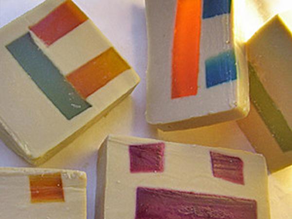 Создаем мыло с прозрачными вставками с нуля | Ярмарка Мастеров - ручная работа, handmade
