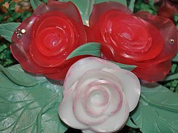 Делаем букет цветов из мыла | Ярмарка Мастеров - ручная работа, handmade