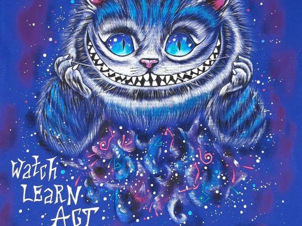 Чеширский коти | Ярмарка Мастеров - ручная работа, handmade