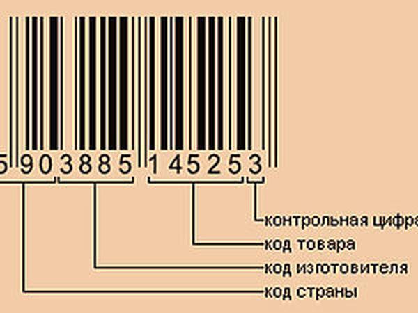 Штриховой код — Википедия | 450x600