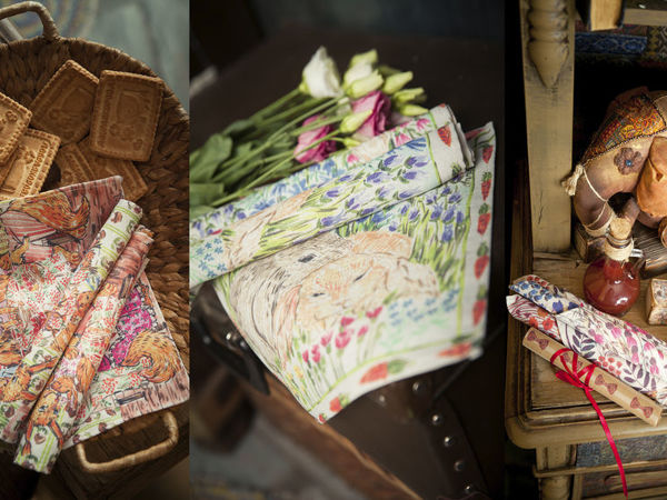 Декоративные салфетки с нашими авторскими принтами | Ярмарка Мастеров - ручная работа, handmade