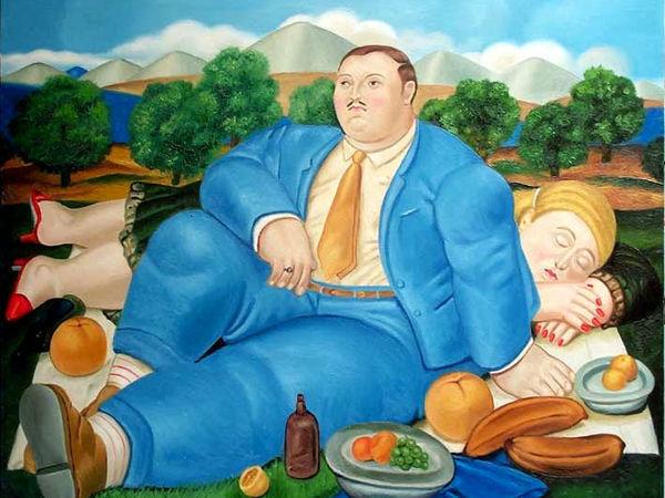 Пикник в творчестве художников разных эпох   Ярмарка Мастеров - ручная работа, handmade
