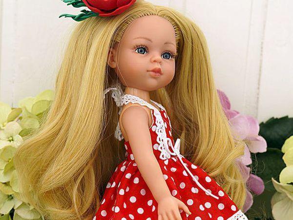 Мой способ перепрошивки кукольных волос | Ярмарка Мастеров - ручная работа, handmade