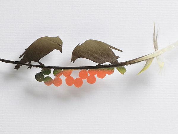 Chris Maynard и его воздушные картины из птичьих перьев | Ярмарка Мастеров - ручная работа, handmade