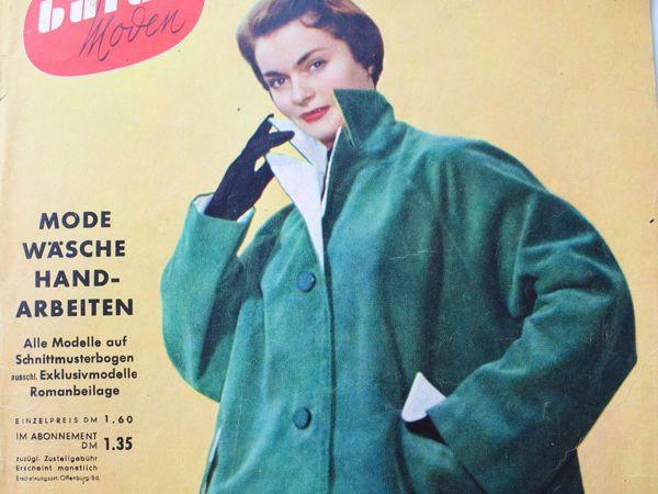 Burdа moden  2/1953 Бурда Моден | Ярмарка Мастеров - ручная работа, handmade