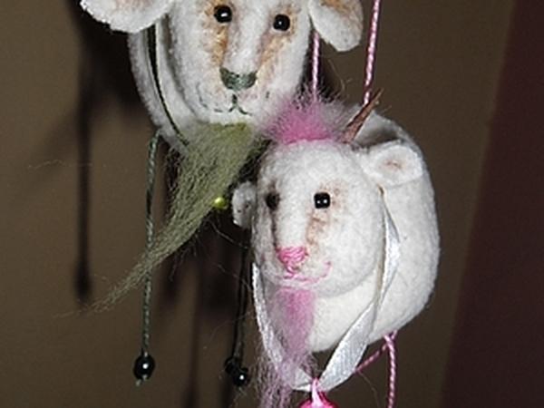 Мастер-класс: козлик Яша + коза Маша | Ярмарка Мастеров - ручная работа, handmade