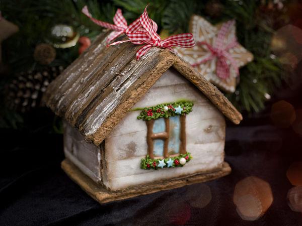 Делаем пряничный домик в стиле рустик   Ярмарка Мастеров - ручная работа, handmade