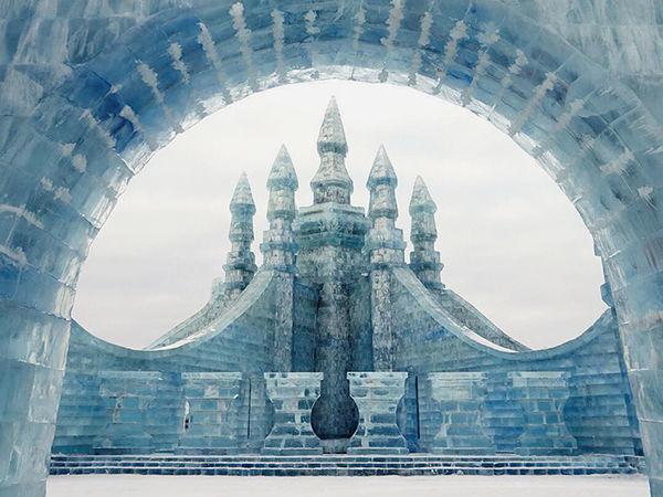 Песнь льда и снега: в Китае построили целый город с ледяными замками и небоскребами в натуральную величину | Ярмарка Мастеров - ручная работа, handmade