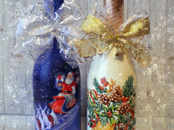 Новогодний декупаж | Ярмарка Мастеров - ручная работа, handmade