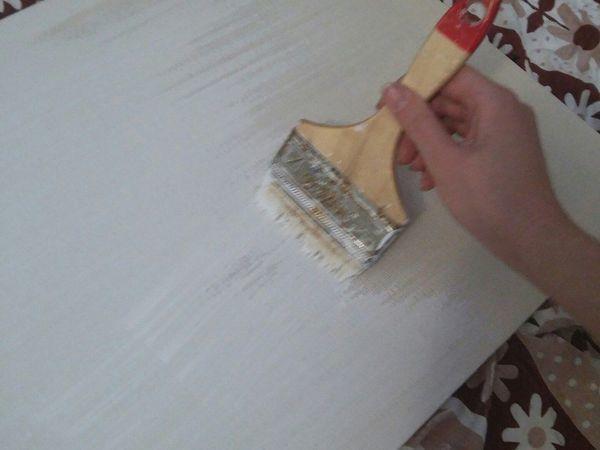 Как натянуть холст на подрамник и загрунтовать его   Ярмарка Мастеров - ручная работа, handmade