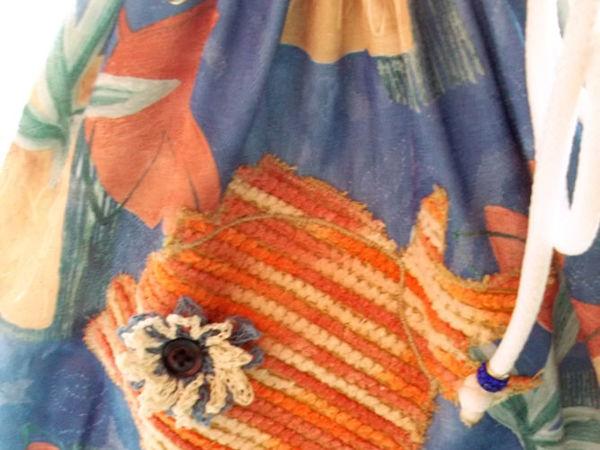 Сумка пляжная  «В синем море , в белой пене..»   Ярмарка Мастеров - ручная работа, handmade
