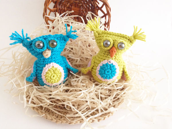 Crocheting a Charming Little Owlet with Tassels on Ears | Livemaster - handmade