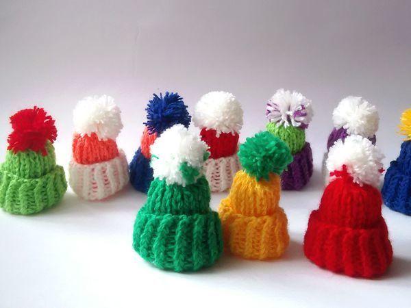Гирлянда из мини шапочек!!! | Ярмарка Мастеров - ручная работа, handmade