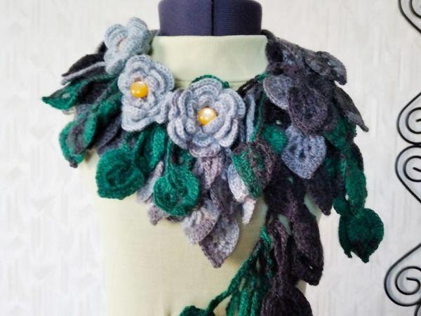 Распродажа авторских оригинальных шарфиков от 1200 руб | Ярмарка Мастеров - ручная работа, handmade