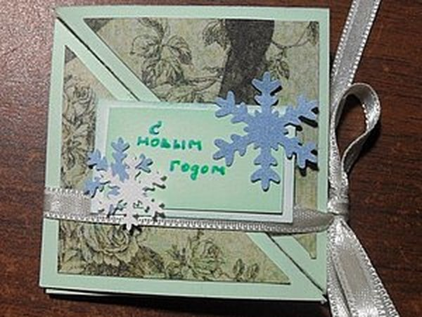 Необычная открытка своими руками: мастер-класс | Ярмарка Мастеров - ручная работа, handmade