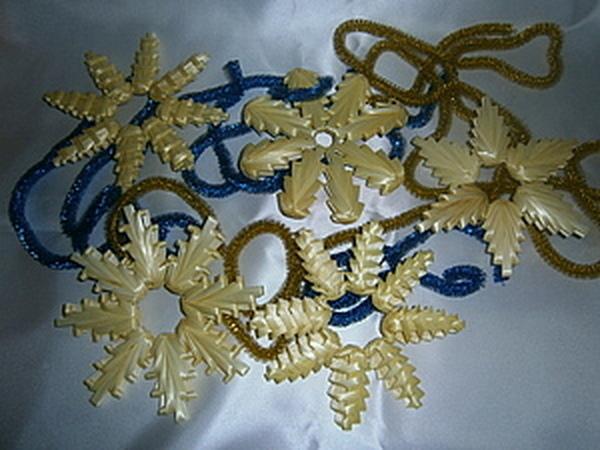Мастерим новогодние снежинки из соломки и не только... | Ярмарка Мастеров - ручная работа, handmade