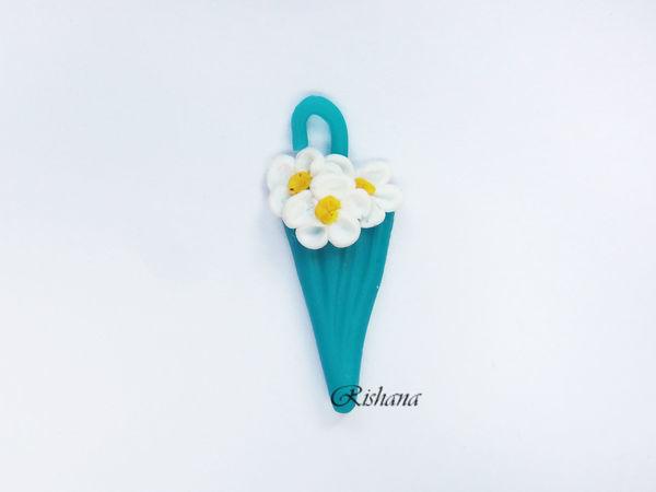 Видео мастер-класс: лепим из полимерной глины цветочный зонтик | Ярмарка Мастеров - ручная работа, handmade
