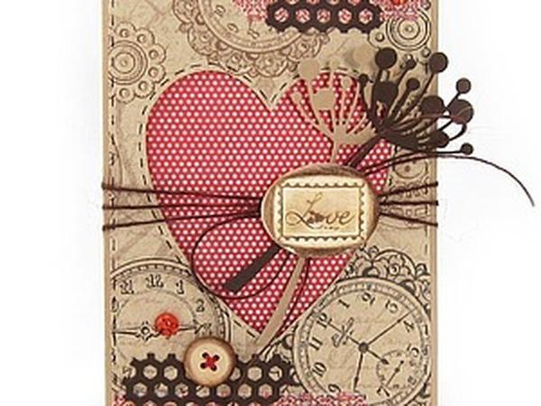 Скидка 50% на открытки Валентинки. | Ярмарка Мастеров - ручная работа, handmade