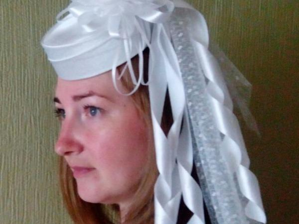 Как сделать свадебную шляпку-таблетку | Ярмарка Мастеров - ручная работа, handmade