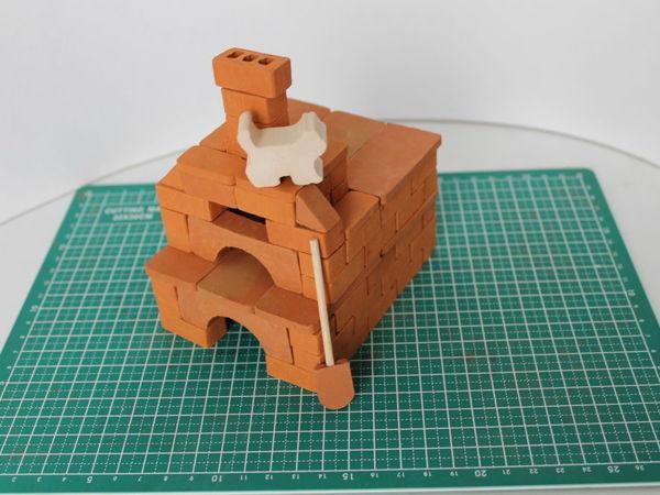 Ролик о сборке модели Печка   Ярмарка Мастеров - ручная работа, handmade