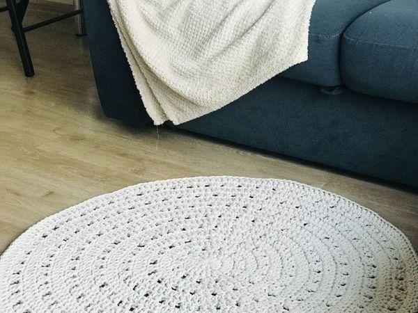 Круглый ковер | Ярмарка Мастеров - ручная работа, handmade