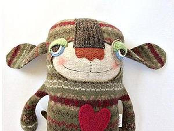 Новые игрушки из старых свитеров: творческий подход Amanda Katzenmeyer   Ярмарка Мастеров - ручная работа, handmade