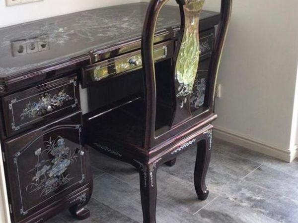 Наш письменный стол со стулом в новом доме! | Ярмарка Мастеров - ручная работа, handmade