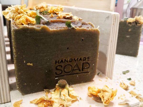Горчичное мыло на подходе | Ярмарка Мастеров - ручная работа, handmade