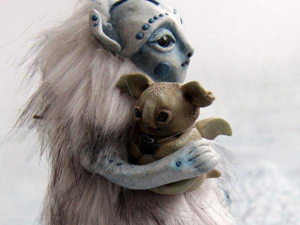 Сказка о Туманном эльфе и вулканическом дракончике Зюше | Ярмарка Мастеров - ручная работа, handmade