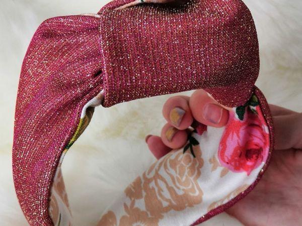 Делаем ободок-тюрбан | Ярмарка Мастеров - ручная работа, handmade