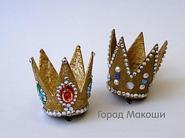 Корона на скорую руку | Ярмарка Мастеров - ручная работа, handmade